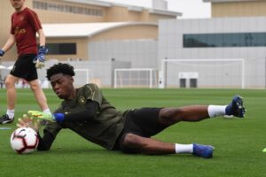 Arthur Okonkwo has been told he's Arsenal's fourth-choice goalkeeper for the rest of the season