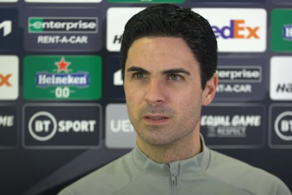 Video: Press Conference – Mikel Arteta on Saka, Partey, Holding, Bellerin and Benfica