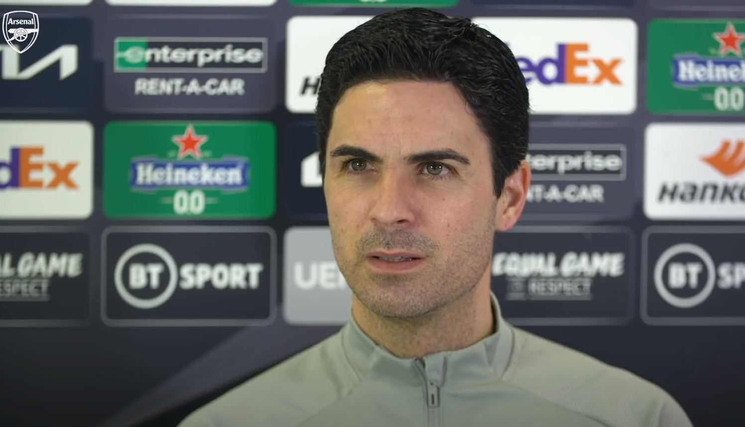 Video: Press Conference - Mikel Arteta on Saka, Partey, Holding, Bellerin and Benfica
