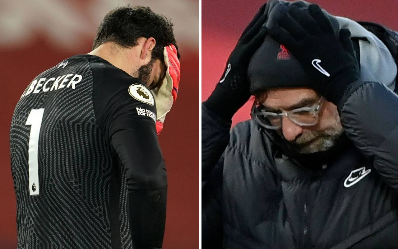 """""""Some things went a little wrong"""" – Jurgen Klopp speaks after Alisson double-blunder"""