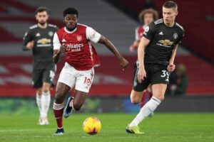 Video: Thomas Partey's silky skills on view for Arsenal