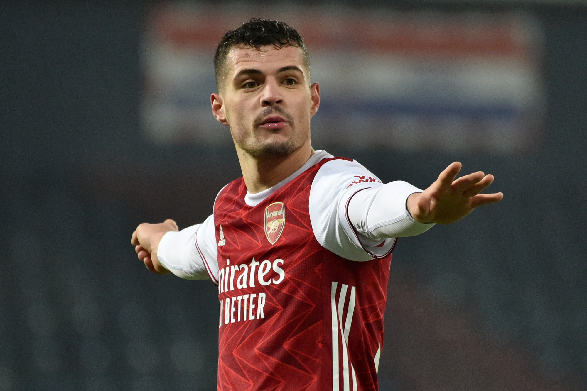 Granit Xhaka praises Arsenal star that has made 'difference' since position change