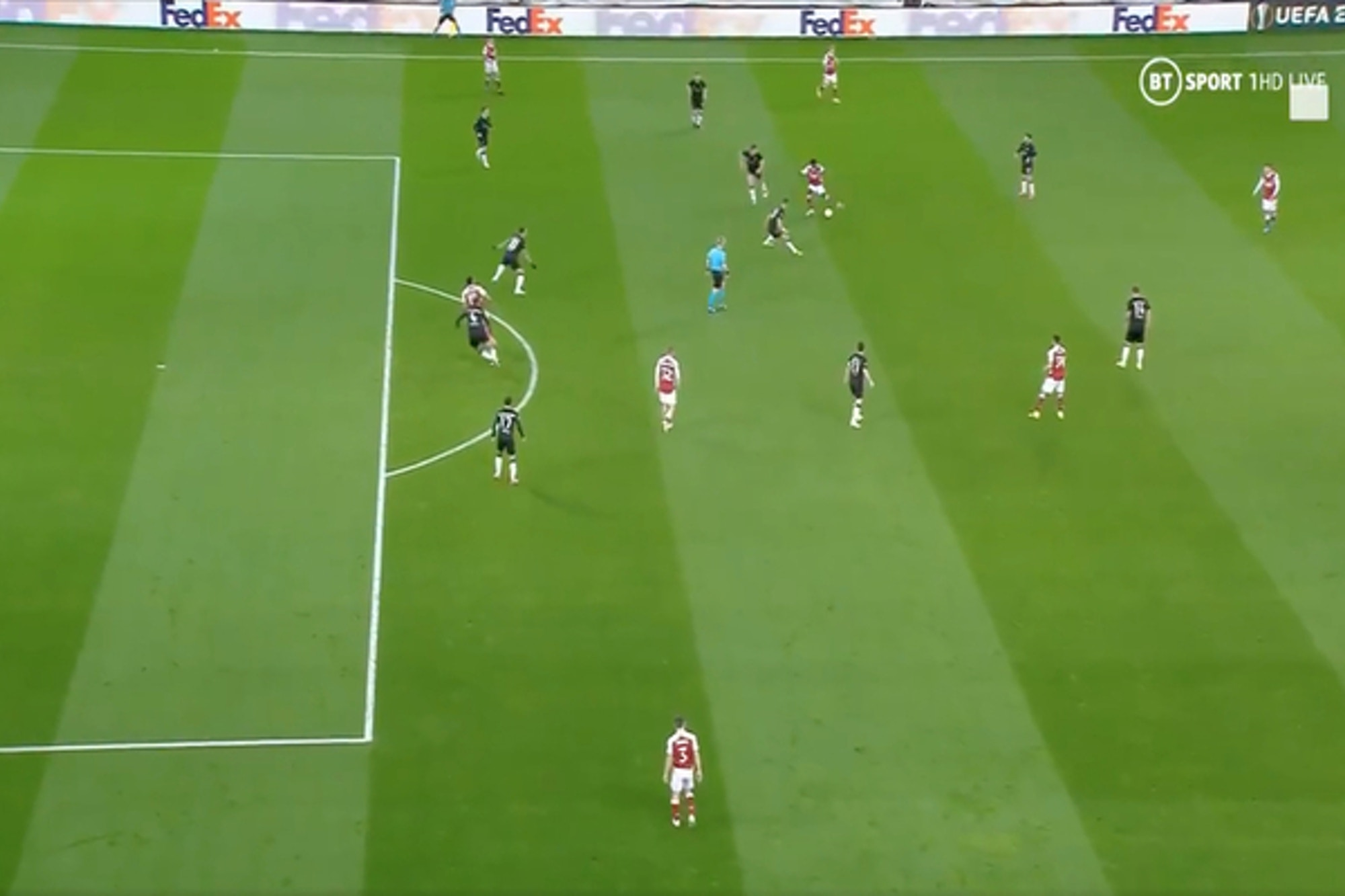 Video: Bukayo Saka produces amazing assist as Aubameyang lobs Arsenal into lead against Benfica