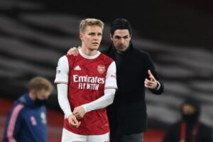 Arteta gives exciting update on Odegaard's involvement at Arsenal