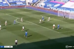 Too easy for Leicester as Youri Tielemans runs almost unchallenged to score vs Arsenal