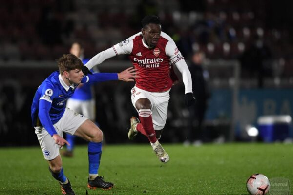 Arsenal teenager receives 2nd consecutive Player of the Month nomination