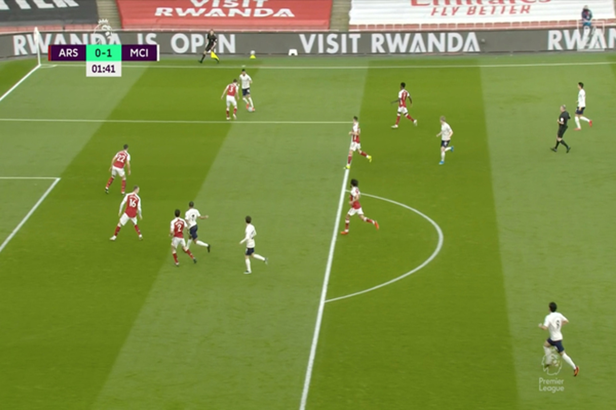 Video: Raheem Sterling punishes Holding to score against Arsenal for Manchester City