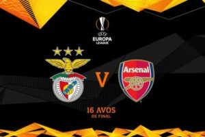 Arsenal to play Benfica in Rome, discussions being held over second leg venue