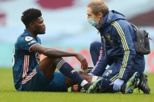 More bad news for Arsenal fans as Mikel Arteta provides Thomas Partey injury update