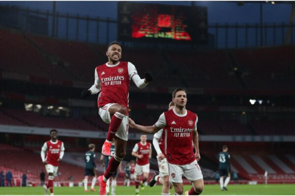 Arsenal 4-2 Leeds United: Aubameyang's first Premier League hat-trick sees Gunners survive scare