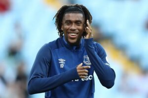 Everton attacker Iwobi: Maybe I should've handled things better at Arsenal