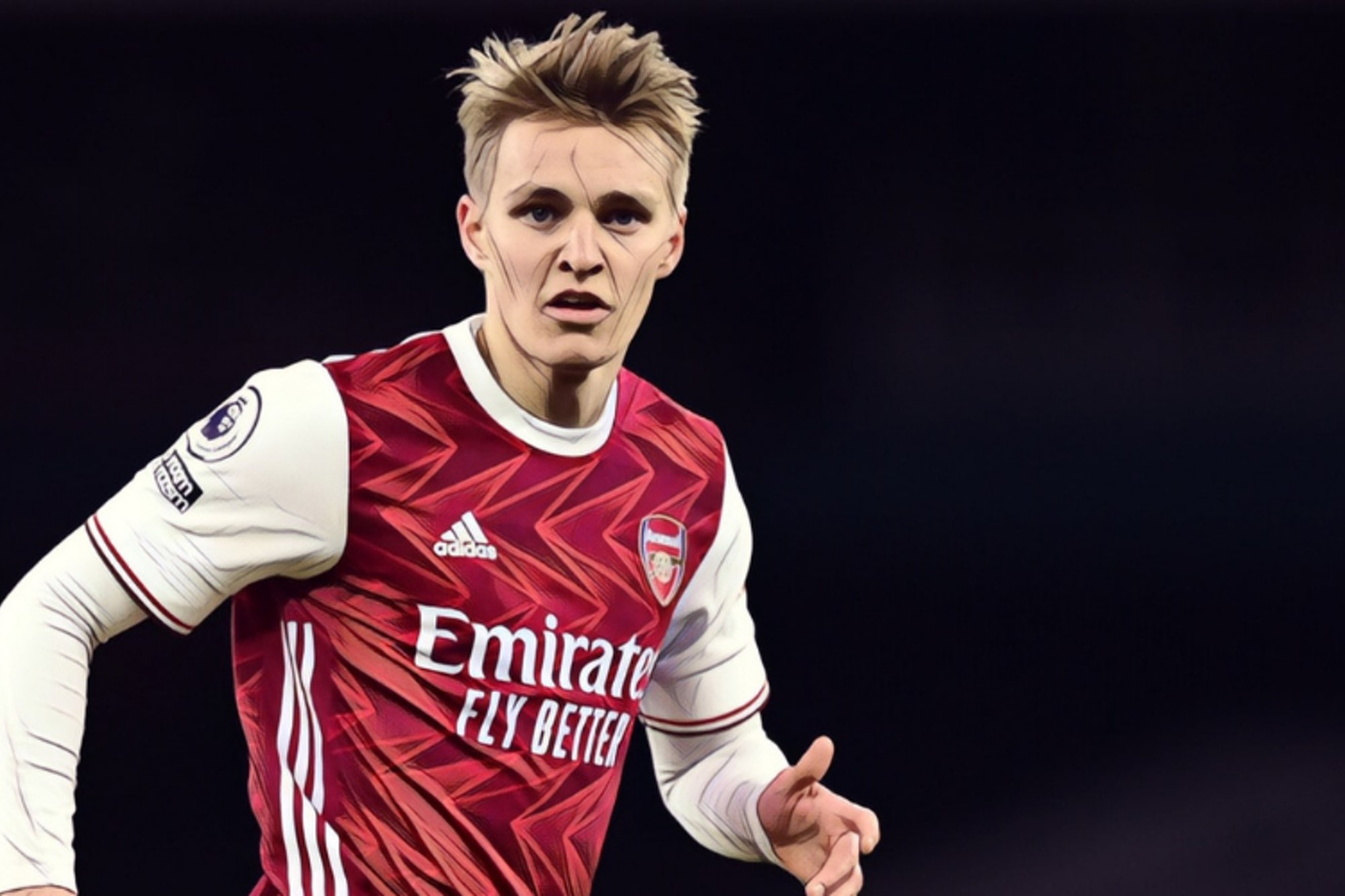 Odegaard admits it has been 'easy' to fit into Arsenal team