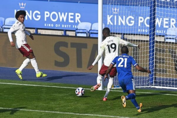 70% win rate: Arsenal's lucky kit strikes again vs Leicester