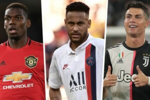 Richest footballers in the world in 2020