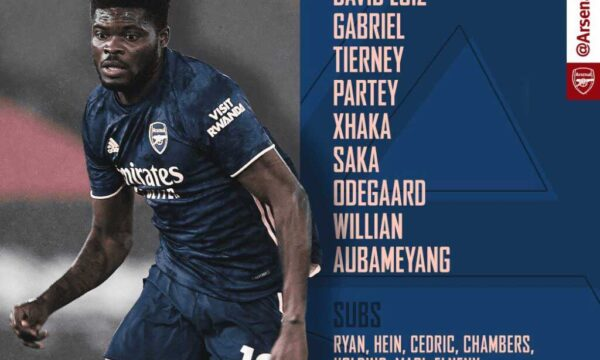 Olympiakos v Arsenal Confirmed Line-ups