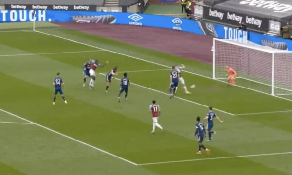 Video: Tomas Soucek gets in on the act vs Arsenal as West Ham go 3-0 up with 30 minutes on the clock