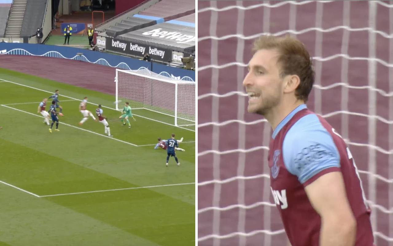 Video: Lady Luck favours Arsenal again as West Ham score their second own-goal of the afternoon