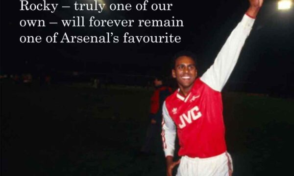 GunnerTalk Special - Tribute to Rocky Rocastle