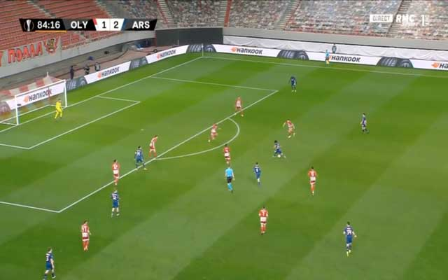 Video: Mohamed Elneny secures Arsenal win with surprise long-range beauty against Olympiacos as substitute