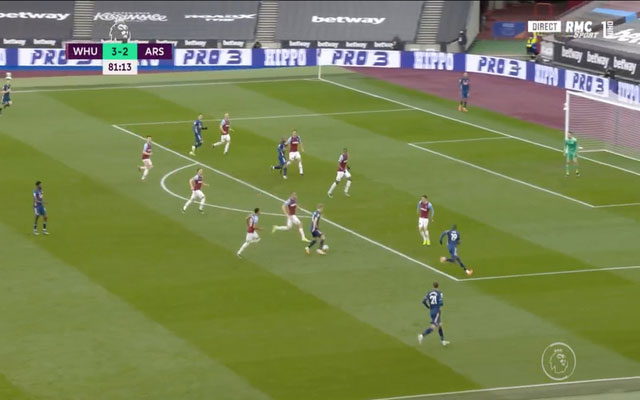 Video: Alexandre Lacazette rescues draw for Arsenal after Odegaard and Pepe work against West Ham
