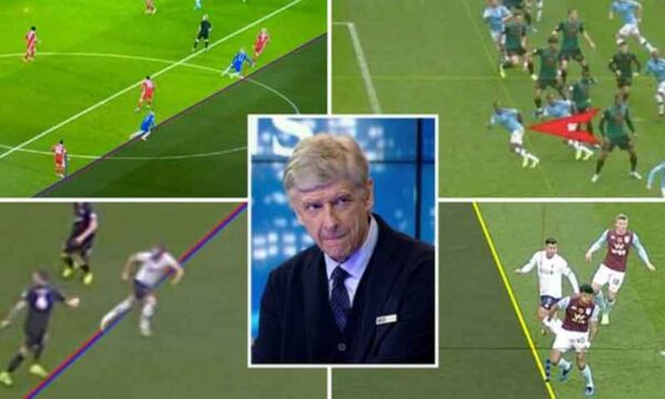 Arsenal legend Arsene Wenger's offside rule and how football could change