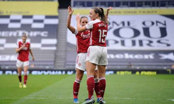 Arsenal Ladies breeze past Spurs in North London derby at Tottenham Stadium