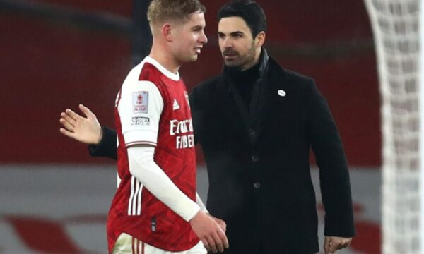 Smith Rowe for England? Arteta backs Arsenal midfielder to make the step up