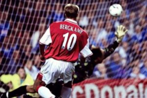 Dennis Bergkamp and one of the most famous hat-tricks in Premier League history