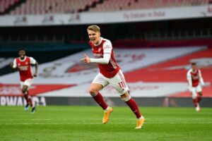 Arteta: We planned to use Odegaard and Smith Rowe together