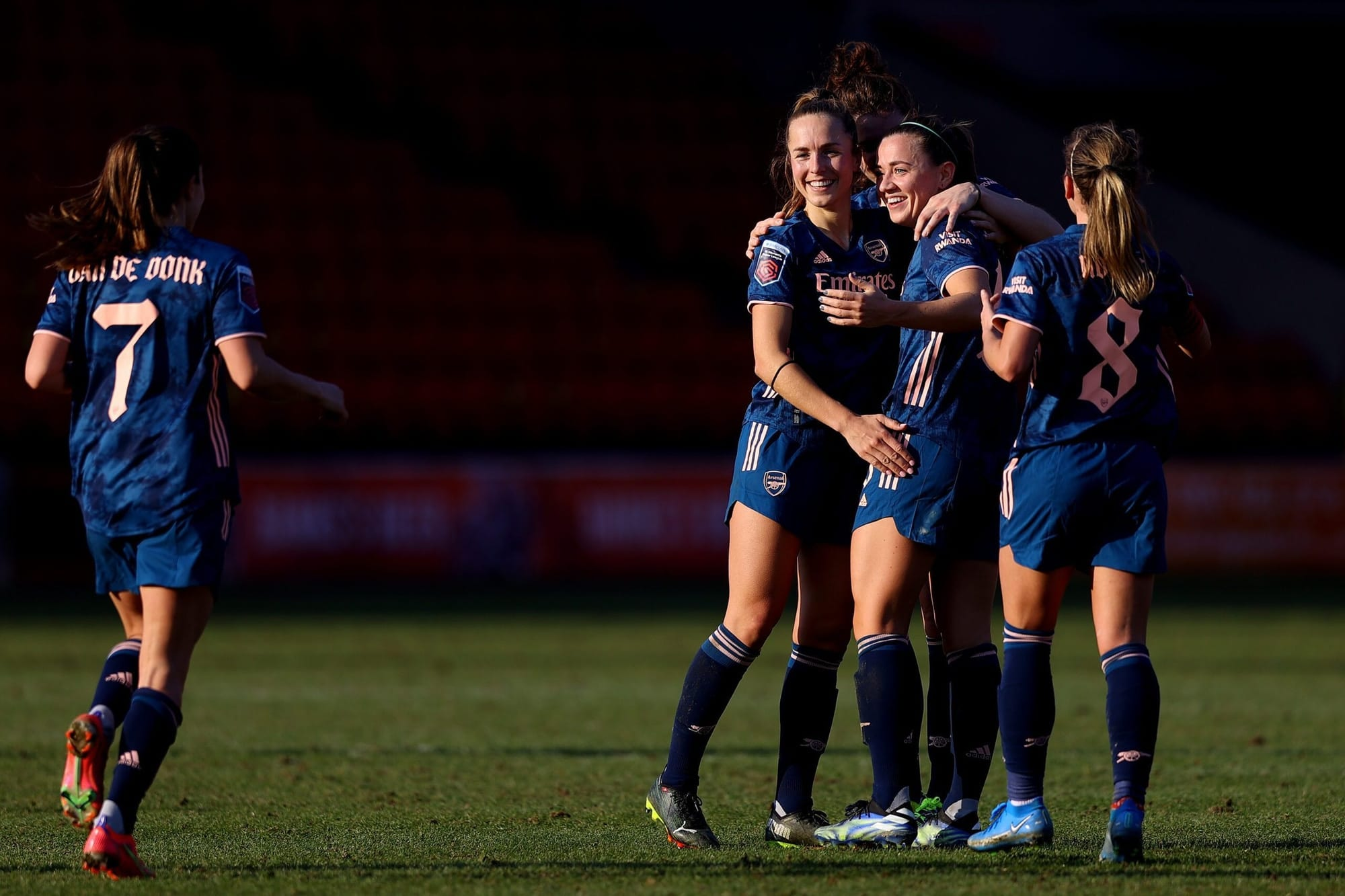 Arsenal Ladies break winless streak with patient win over Aston Villa