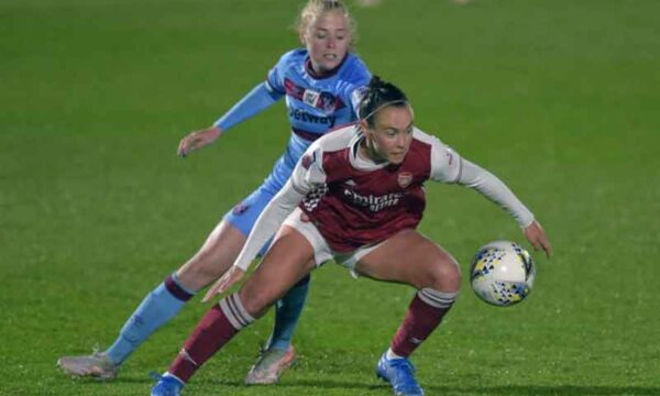 Arsenal Ladies 1 win away from Champions League qualification