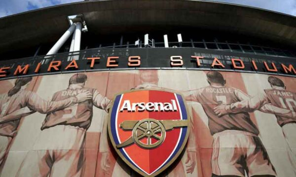 Arsenal fans protest against owner Stan Kroenke pre-Everton game