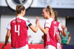 Arsenal hammer Gillingham women to qualify for the FA Women's Cup 5th round