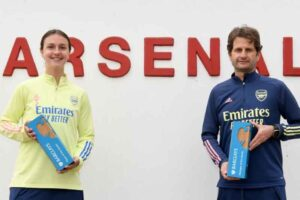 Arsenal scoop up two WSL awards
