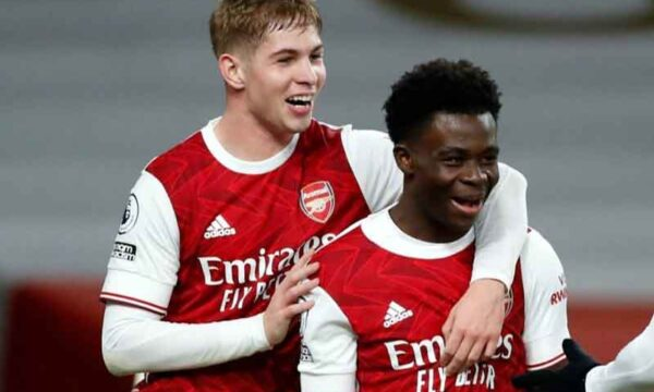 Arsenal youngster proves he simply has to start every game as he's given Europa League Player of the Week