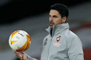 Arteta stands by decision to leave out Aubameyang and backs Arsenal to advance