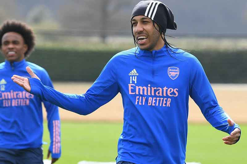 Aubameyang out of hospital and 'feeling good' after malaria diagnosis – Arteta