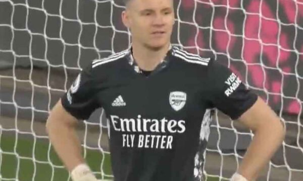 Bernd Leno gifts Everton the lead vs Arsenal with a shocking mistake for an own goal