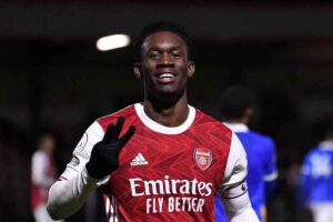 Contract signed Arsenal starlet to commit his future to the Gunners until 2025