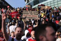 Feelings still running deep in North London as Arsenal fans want to make things very uncomfortable for Kroenke