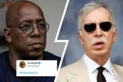 Ian Wright says #KroenkeOut after Arsenal's withdrawal from Super League - and fans admire his bold move