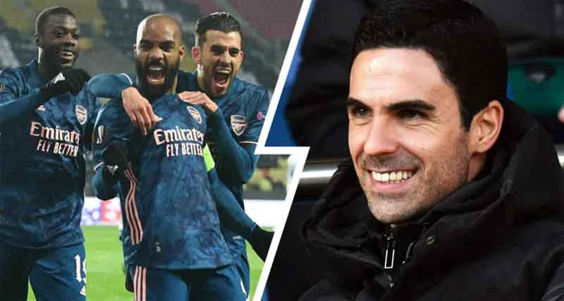 Key change in formation, Pepe's inclusion & more: Assessing Mikel Arteta's decisions in epic Slavia Prague win