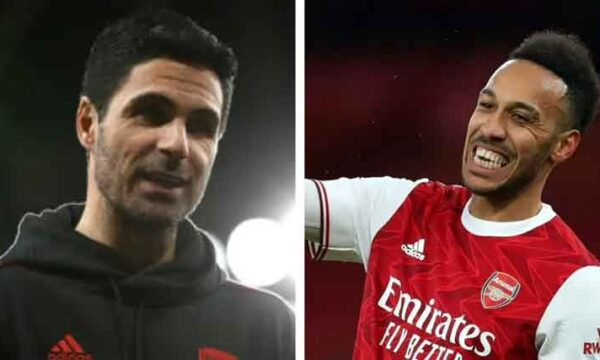 Mikel Arteta: 'Auba is a big part of our team and will continue to be so'