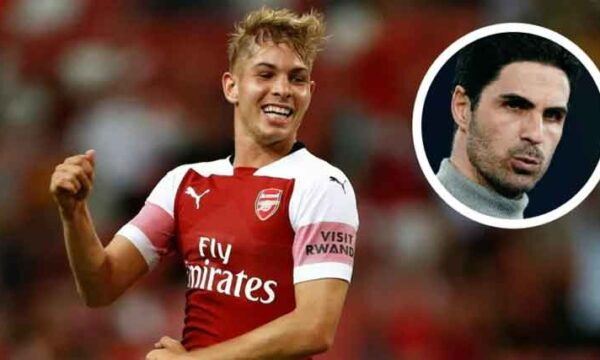 'That makes a huge difference': Mikel Arteta reveals one trait of Emile Smith Rowe's he really admires