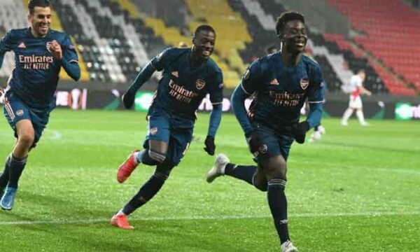 Player Ratings: Slavia Prague 0-4 Arsenal - The Gunners were in excellent form as Saka gets 9.2