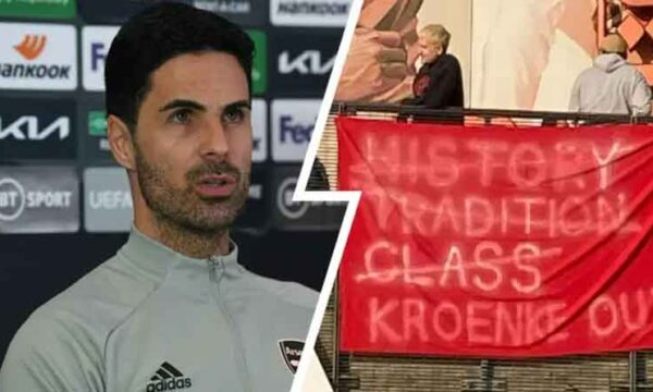 'The fans have the right to express themselves freely': Arteta responds to planned Kroenke Out protests