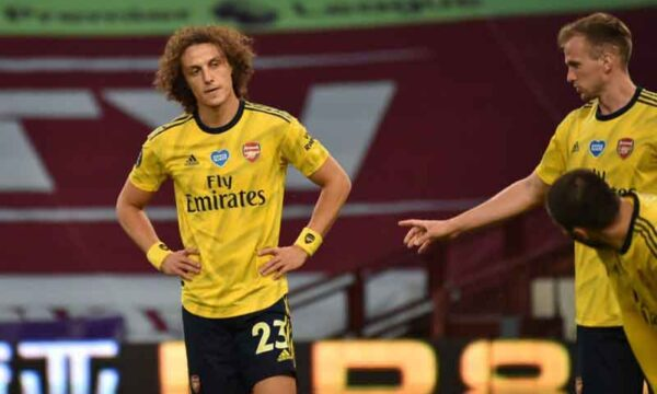 Unlikely Arsenal will renew David Luiz's contract this summer