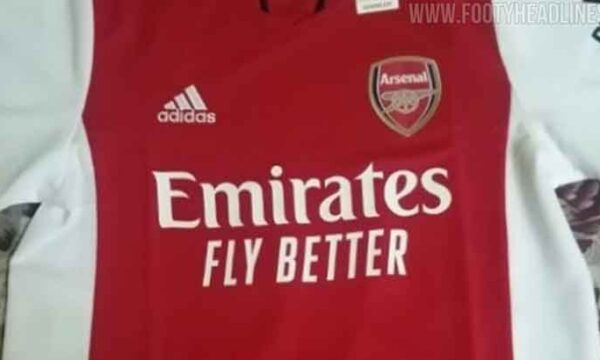 The first real picture of the Arsenal 21-22 home kit has been leaked