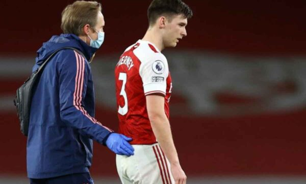 Huge blow as Arsenal star suffers what looks likely to be a season-ending injury