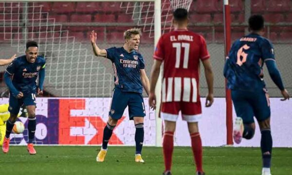 Odegaard stunner voted Arsenal Goal of the Month for March
